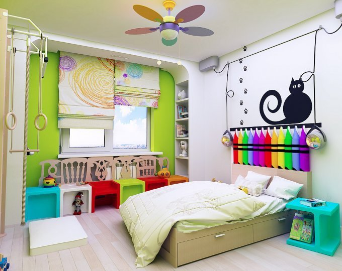 Как выбрать шторы в детскую, не разозлив малыша
