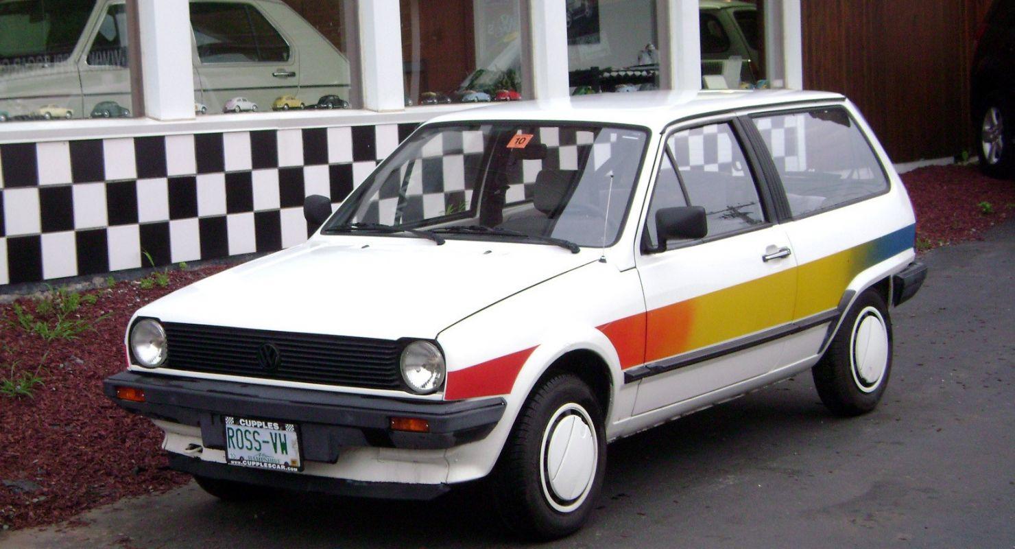 В Сети показали забытый эко-Volkswagen Oko-Polo из 80-х Автомобили