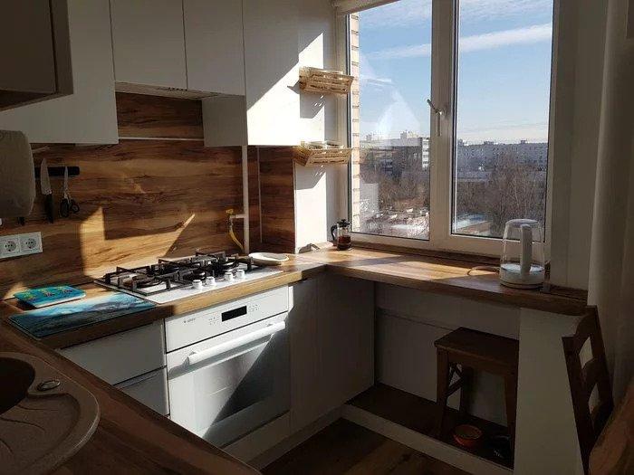 Компоновка маленькой кухни (5.5м). Опыт. Мнение. Готовое решение