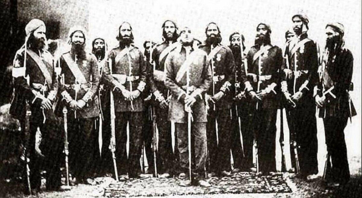 Как отряд из 21 сикха остановил целую армию из десяти тысяч афганцев
