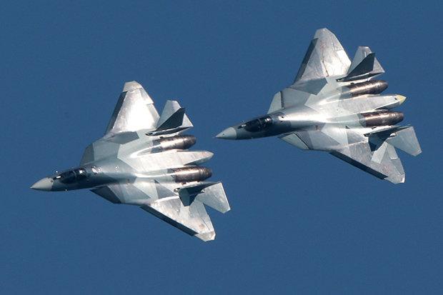 Российский Су-57 прилетел в Сирию и сразу очень не понравился Индии