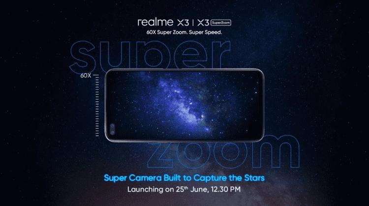 Смартфон Realme X3 на базе Snapdragon 855 Plus будет представлен 25 июня