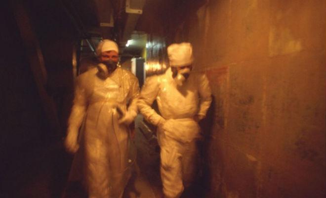 Два часа под чернобыльским саркофагом