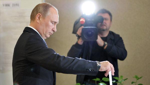 Ещё не вечер. Путин прокомментировал невысокую явку на выборах