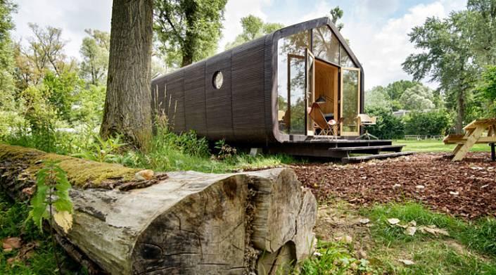 Картонный домик, который собирается за день, а прослужит 100 лет