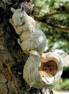 Идеи кормушек для птиц