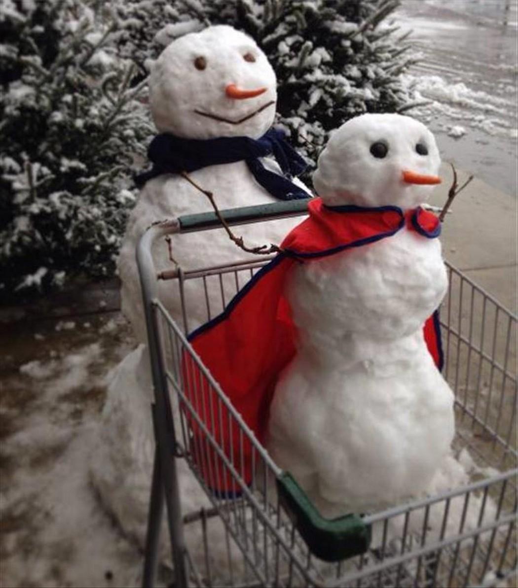 ржачные снеговики фото луценко