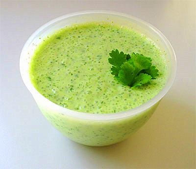 Райта (индийский соус из  йогурта ). Фото-рецепт. Olga Dell