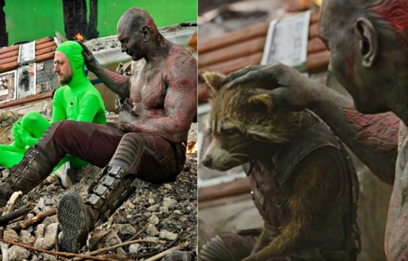 23 сцены из популярных фильмов до и после графической обработки