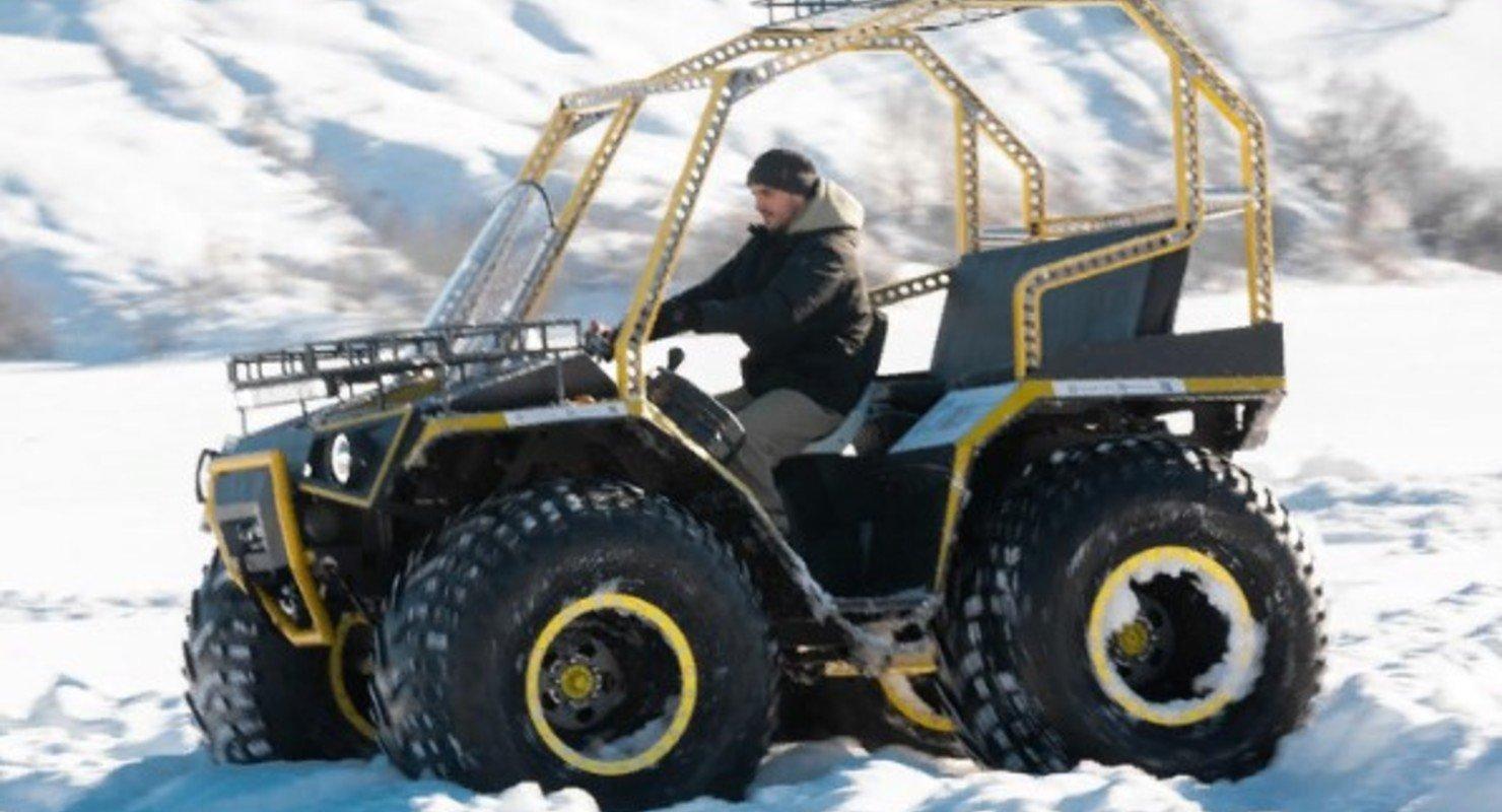 В России представили новый особенный вездеход Enwix Автоновинки