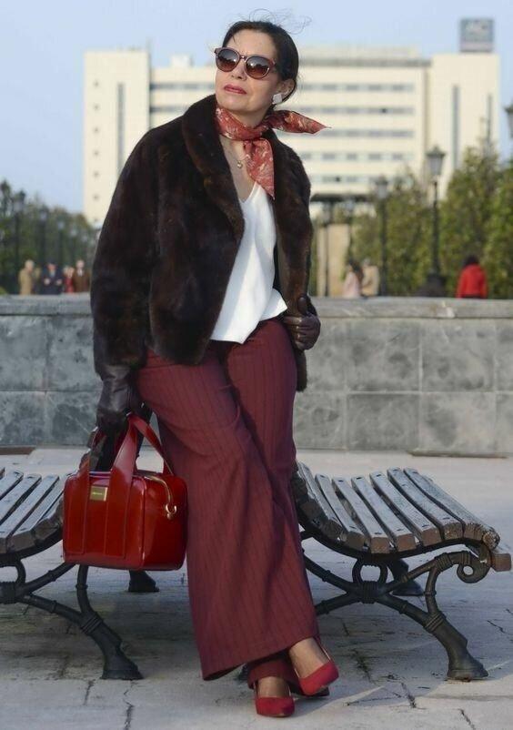 Как одеваются стильные европейские женщины после 50+
