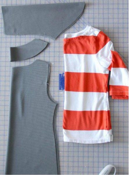 Шъём платье без выкройки