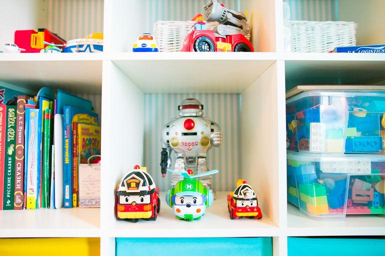 Хранение игрушек в детской: наш опыт