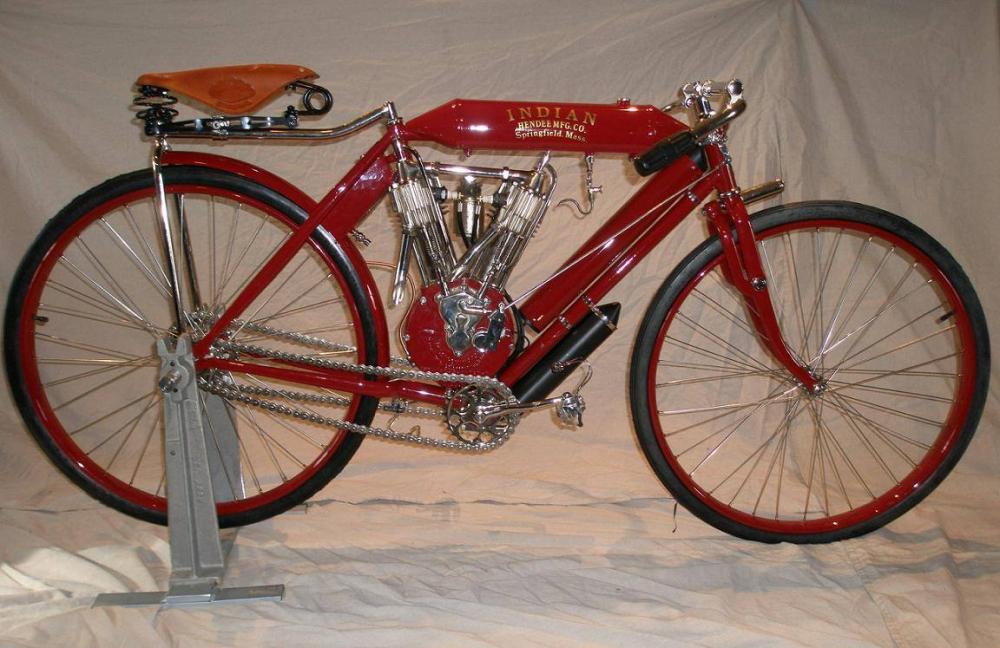 Первые мотоциклы в истории