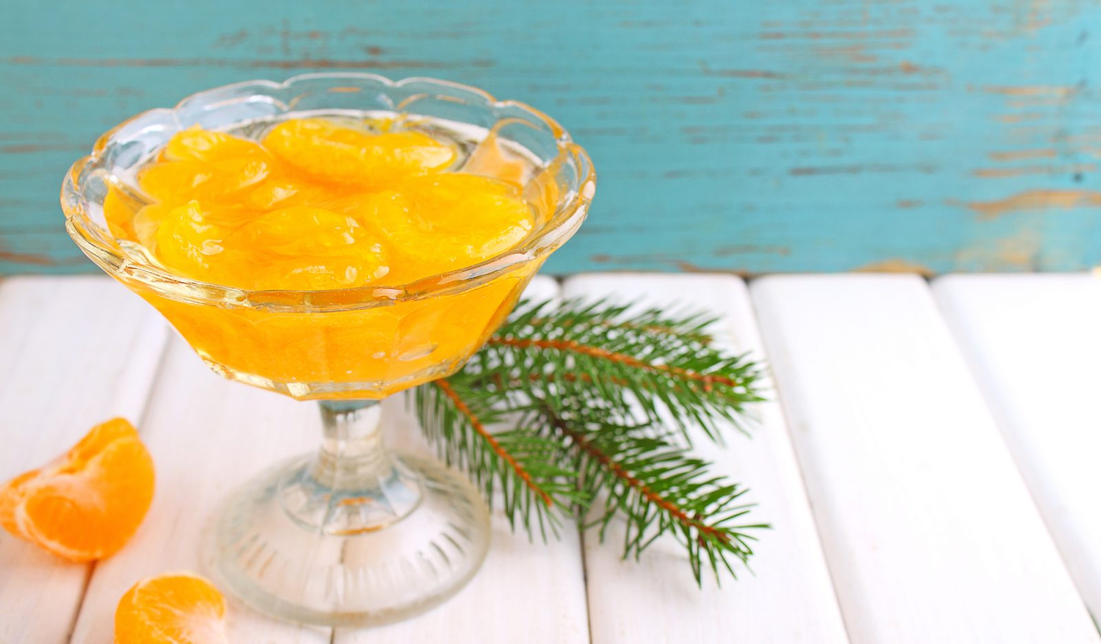 Мандарины в сиропе десерты
