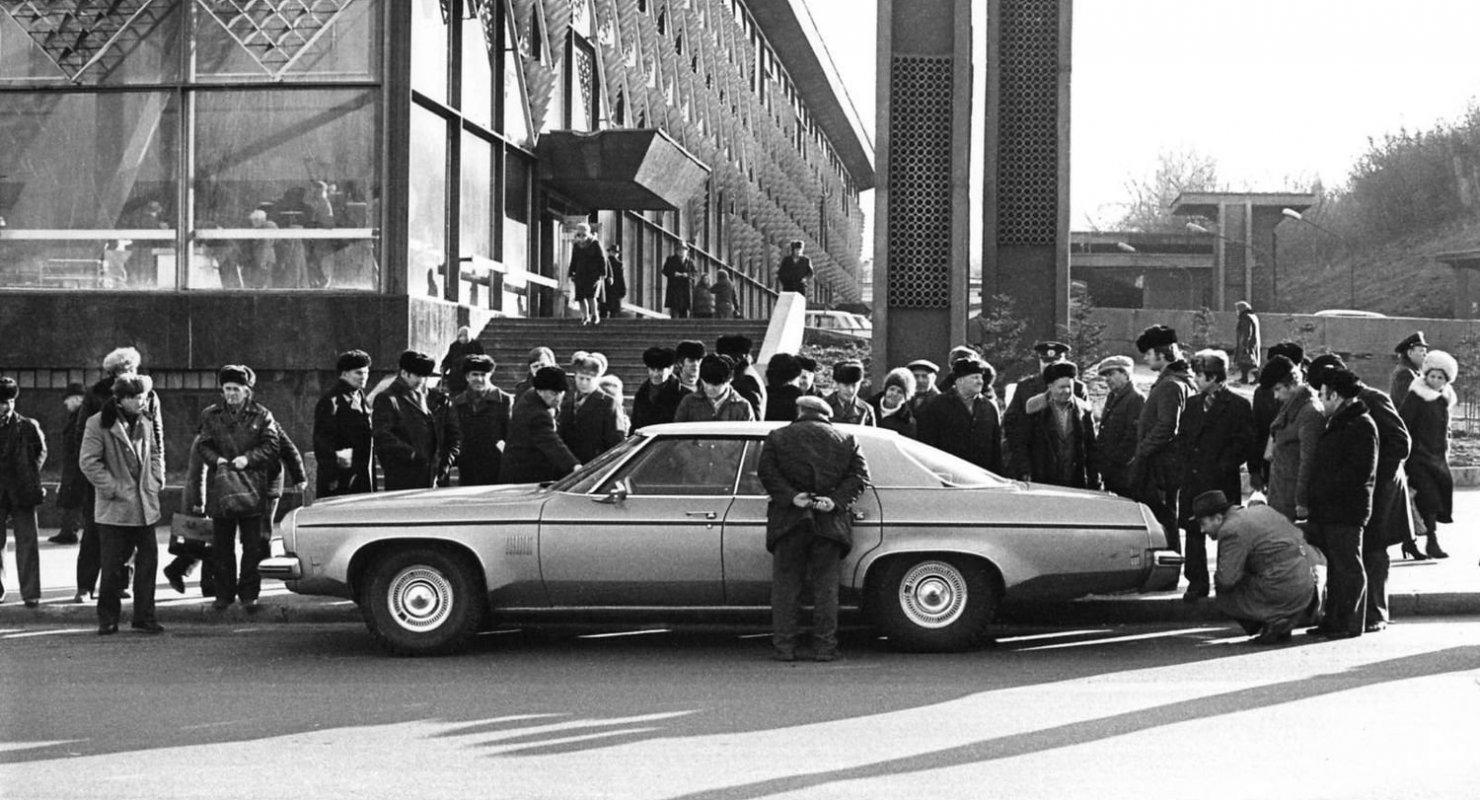 История появления иномарок в СССР Автомобили