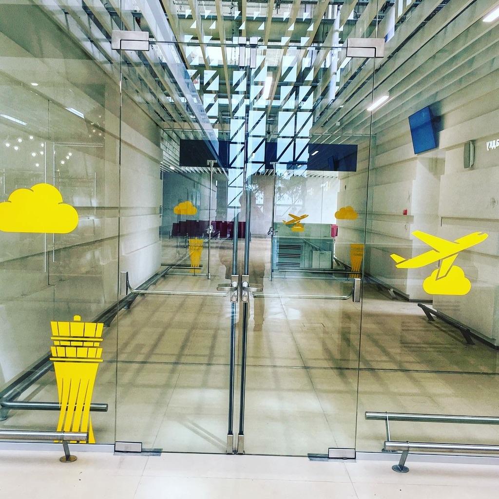 Крым новый арт-объект - аэропорт Симферополя