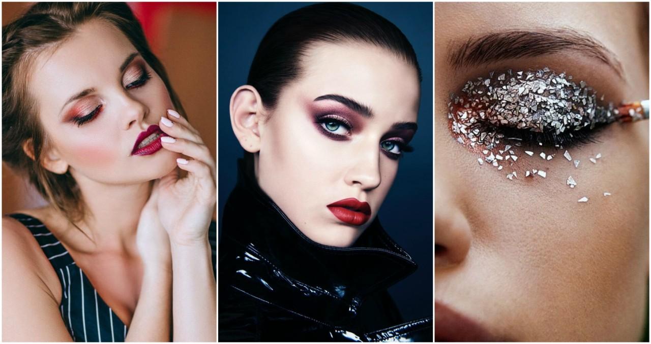 фото макияжа и шаги на новый год появляется гемангиома