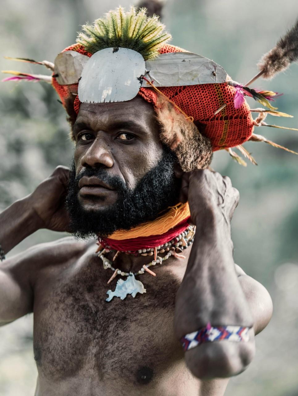 Папуасы из Папуа-Новой Гвинеи