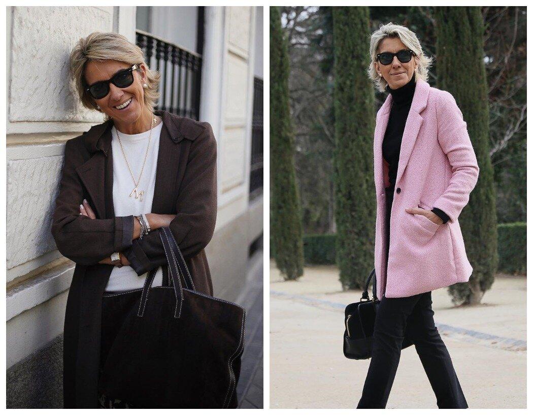 Коричневый смягчает белый, а розовый уравновешивает чёрный