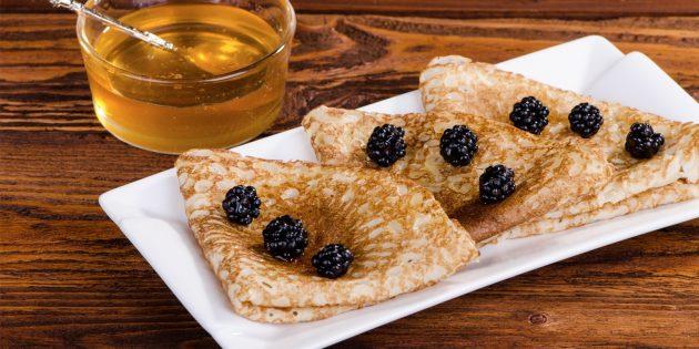 Рецепты блинов на Масленицу: диетические из овсяных хлопьев