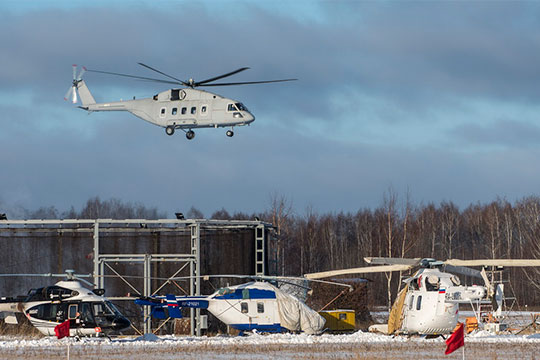 Шеф «Вертолетов России» о загрузке КВЗ, продвижении «Ансата» и вертолетном «трейд-ин» Авиация