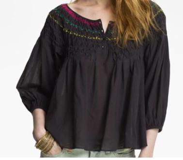 Шьем блузку-крестьянку: идеи и моделирование
