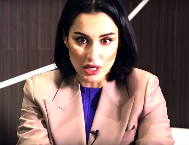 Тина Канделаки нашла главного зачинщика беспорядков в Грузии