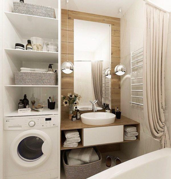 Идеи, которые можно использовать, когда места в ванной не хватает 3