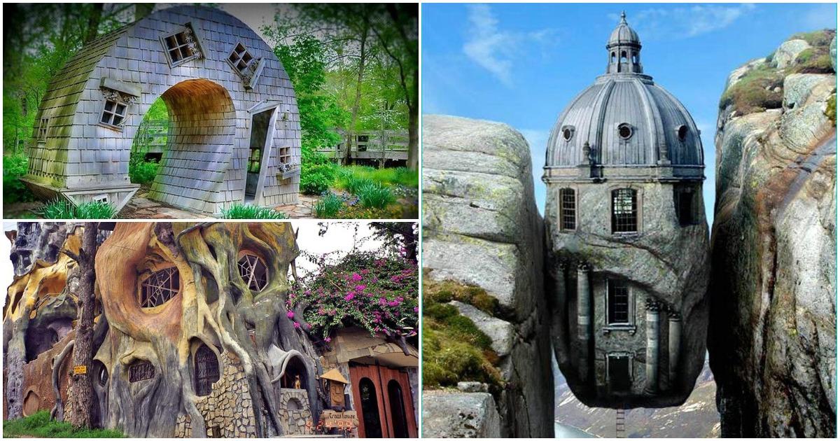 Необычные дома: креативный подход, достойный восхищения