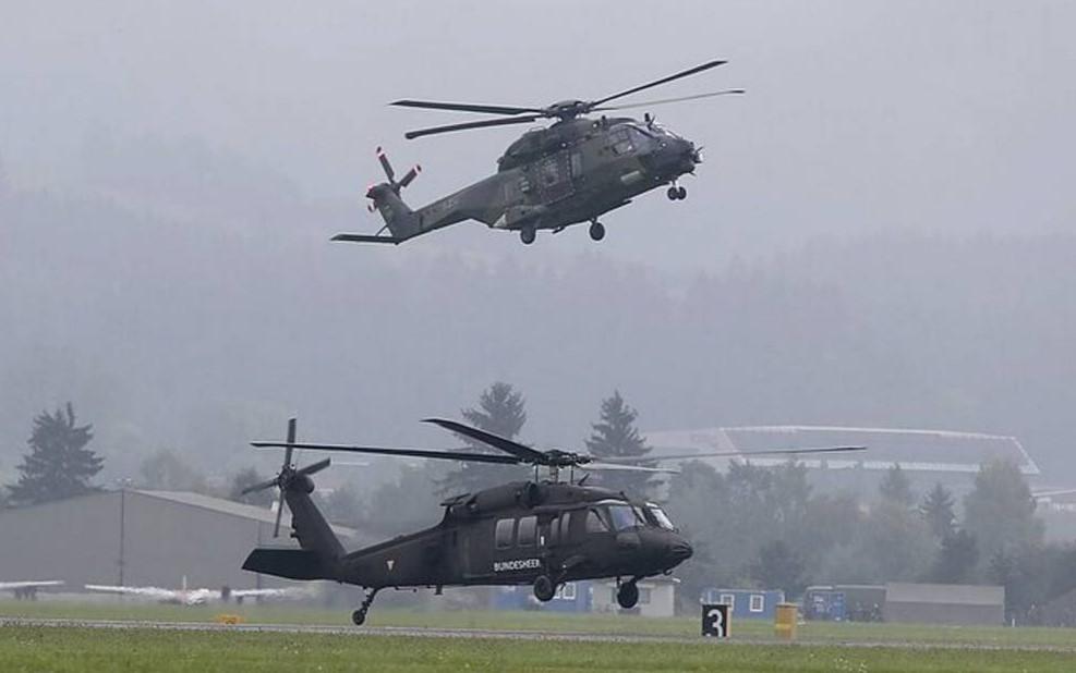ВВС США перебросили отряд боевых вертолетов на литовско-белорусскую границу