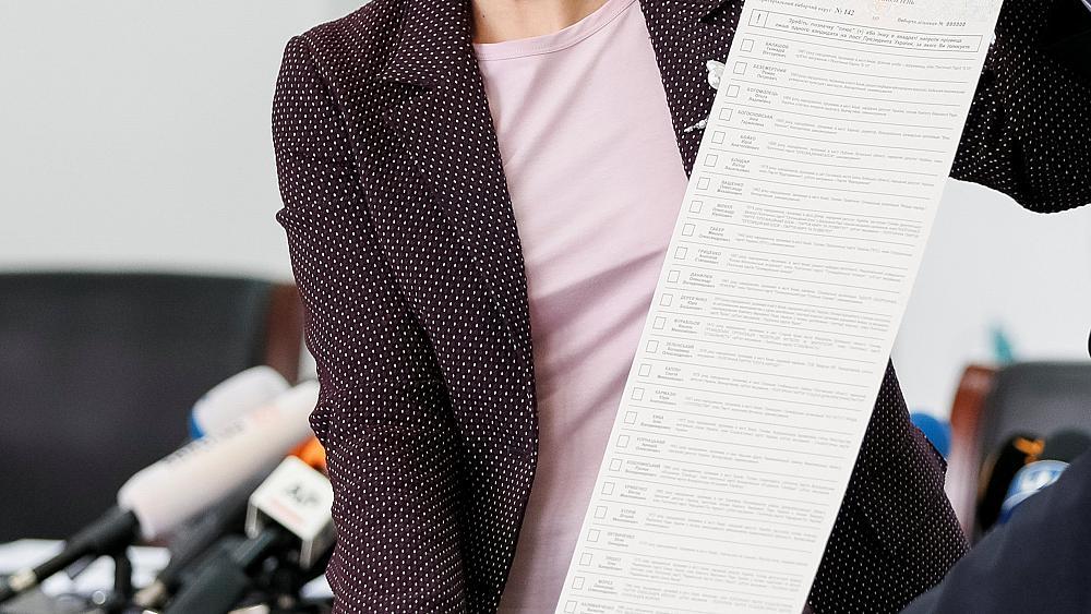 Напечатан первый 25-метровый бюллетень для голосования на референдуме по внесению поправок в Конституцию