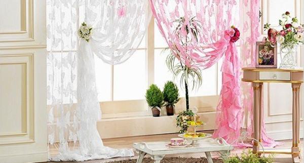 Как сделать шторы-нити своими руками домашний очаг...