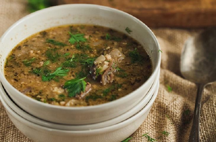 Кавказский хаш: варим густой жирный суп из рубца кухни мира,супы