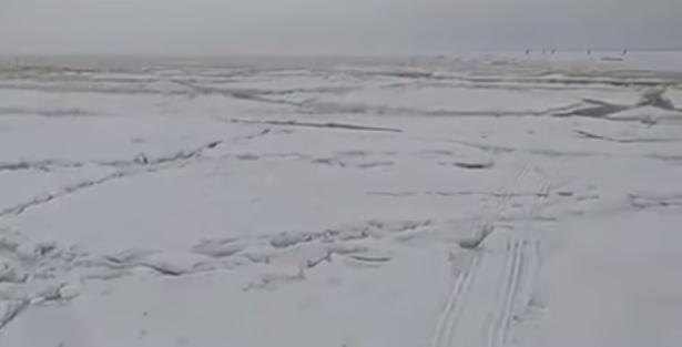 Рыбак заснял цунами на Байкале