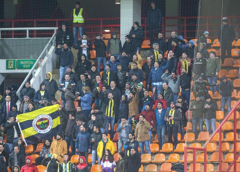 «Фенербахче» проведет три домашних матча без зрителей и заплатит штраф в 200 тысяч евро
