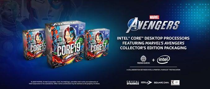 Intel представила процессоры Marvel's Avengers Collector's Edition Packaging новости,статья,технологии