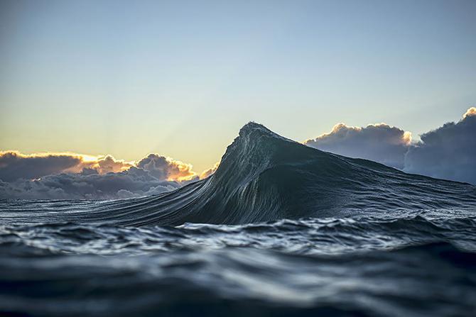 Волны как горы