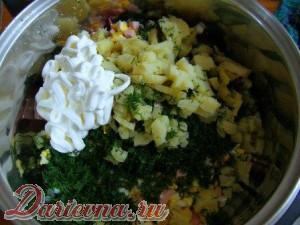 Мамина окрошка еда,пища,рецепты, кулинария