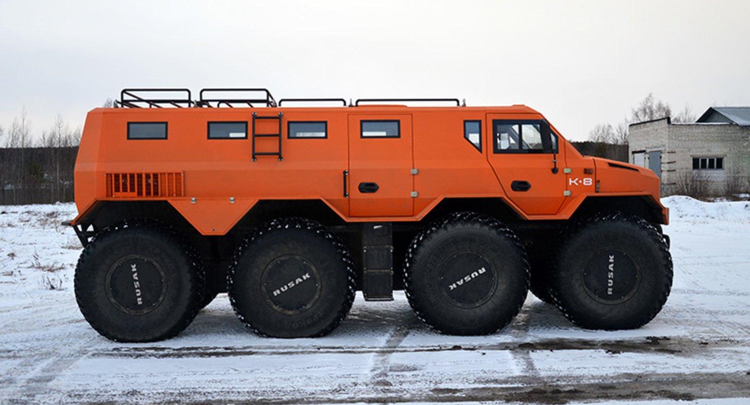 Новый вездеход в России — РУСАК-3994 Автомобили