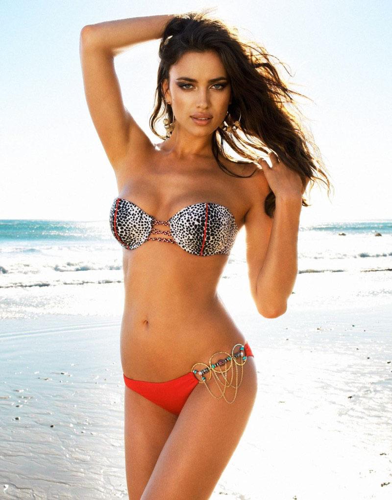 Ирина Шейк, купальники Beach Bunny.