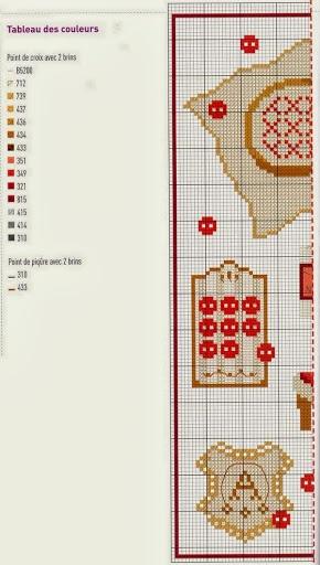 Швейные схемы вышивки (подборка)