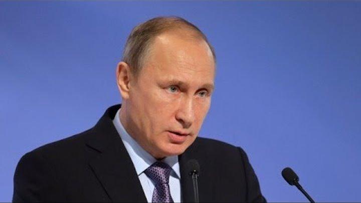 Историческое заявление Путина по Украине и России