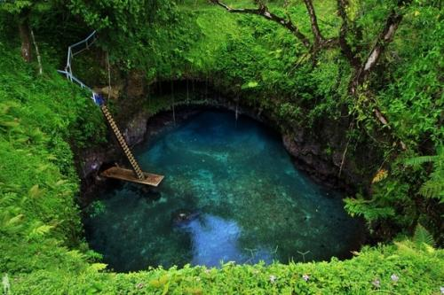 То - суа, природный бассейн …