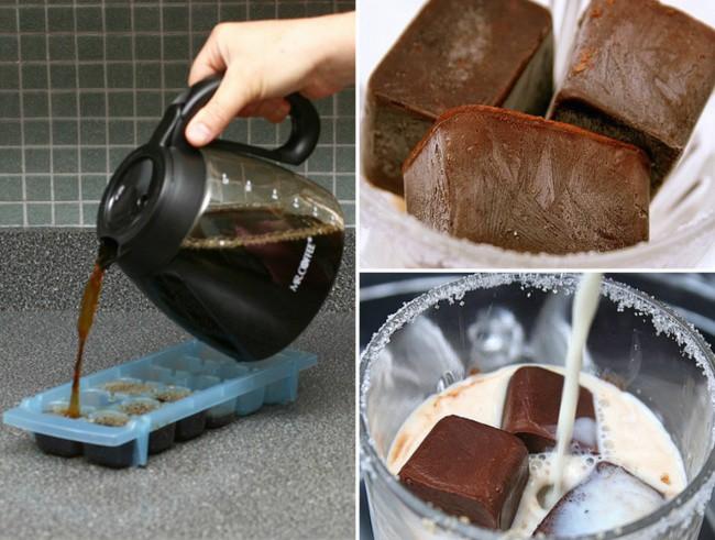 Кофейный лед для любителей кофе. Идеально в жару. еда, своими руками, сделай сам