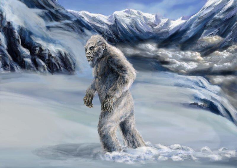 Снежный человек Криптозоология, йети, лох-несское чудовище, мистика, наука, чупакабра