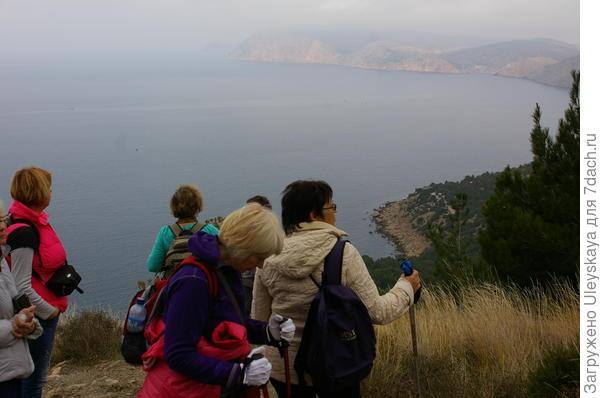 Пешком в Балаклаву балаклава,города,горы,Крым,путешествие,турист