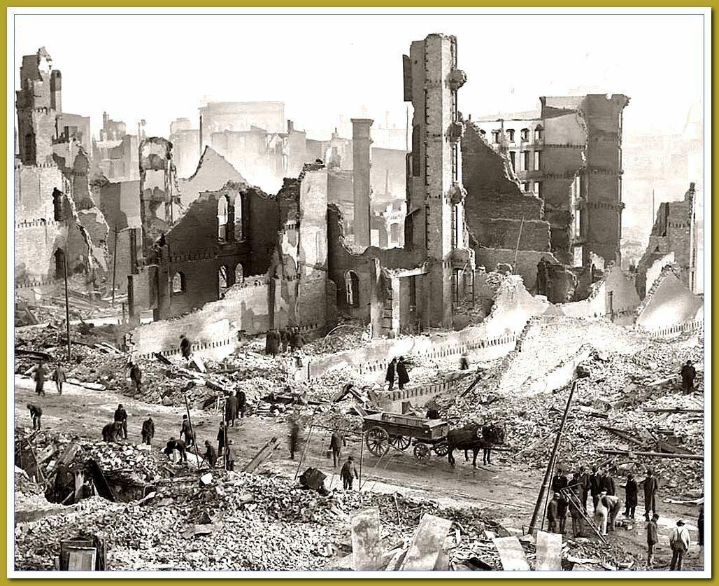 Источник Яндекс.картинки. Уничтоженные кирпичные дома