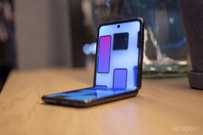 Samsung представила концептуальные гибкие экраны