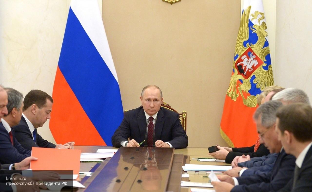 Стало известно, когда начнется реализация программы Владимира Путина